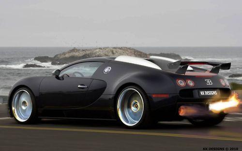 Like The Exhaust Flames Cars Bugatti Cars Bugatti Veyron Super