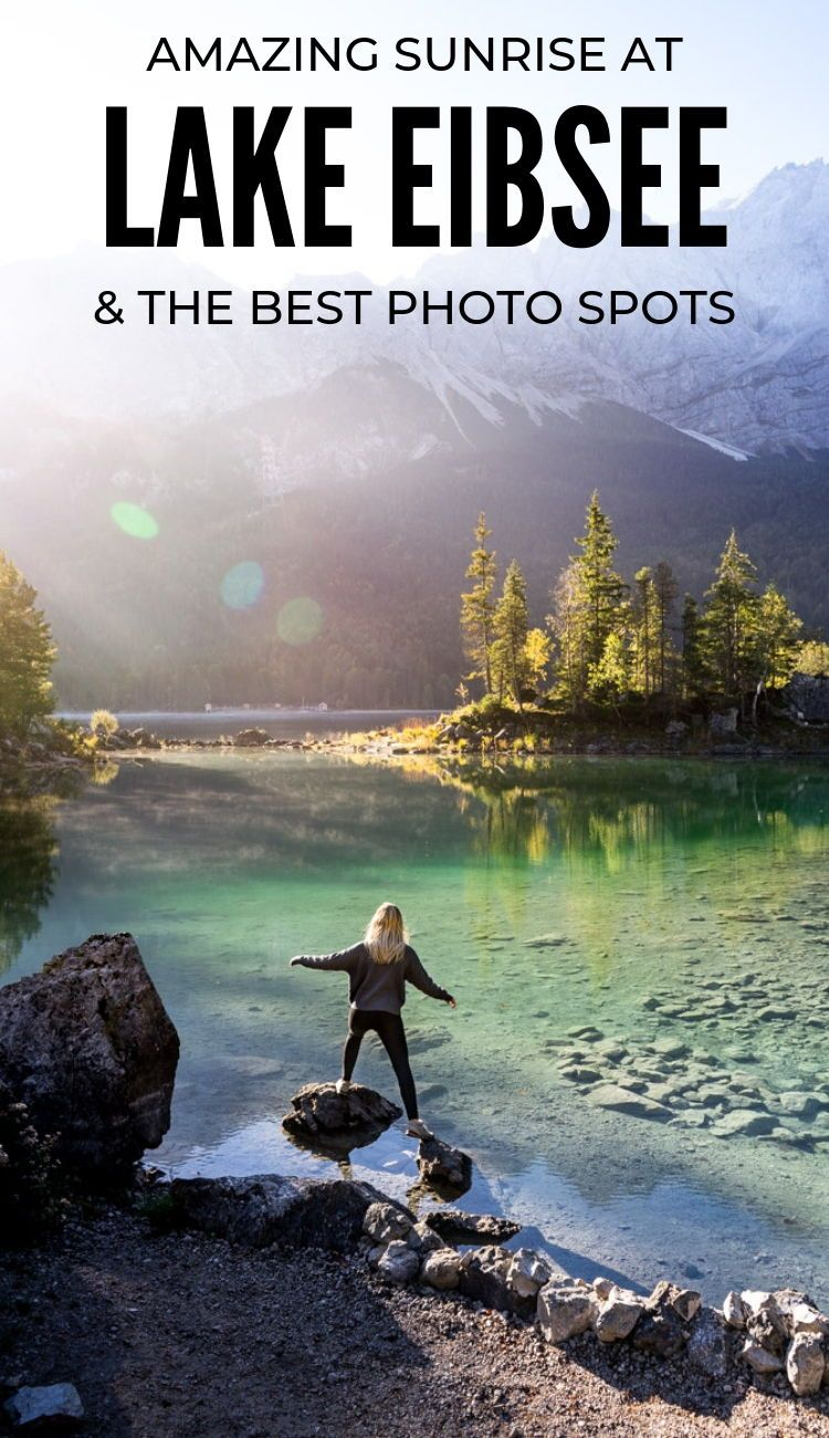 Photographers Guide Destinations Guide Photography How To Best Fotospots Lake Eibsee Grainau Garmisch Photo Spots Travel Garmisch Partenkirchen