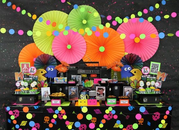 Totally Epic 80s Theme Party Ideas - Pretty My Party