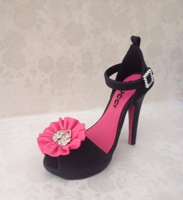 High heels Cake topper - by cakesformates @ CakesDecor.com - cake ...