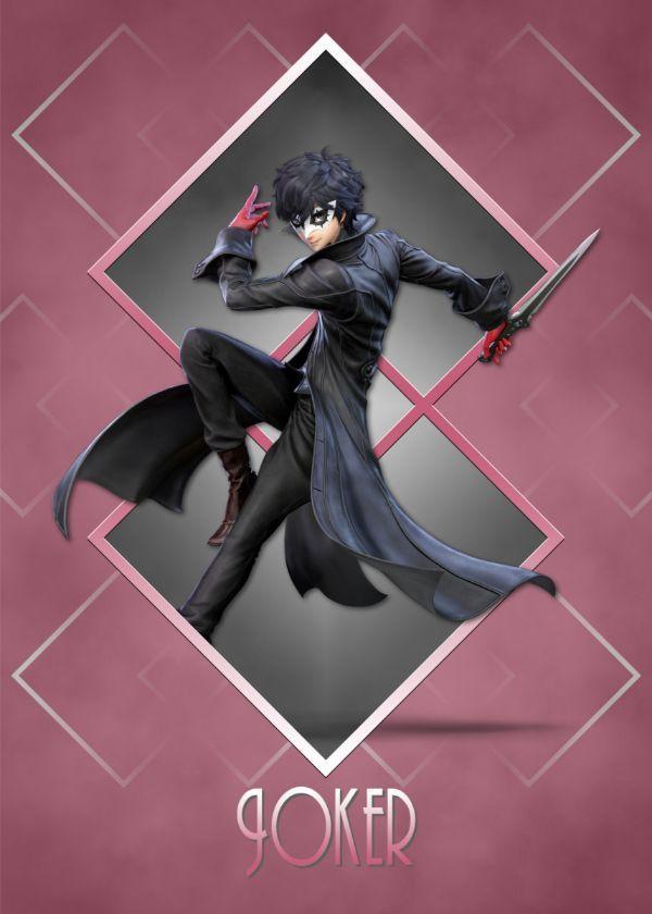 Super Smash Bros. Ultimate Art Deco Characters Joker Phantom Thief #Displate artwork by artist… | Displate thumbnail