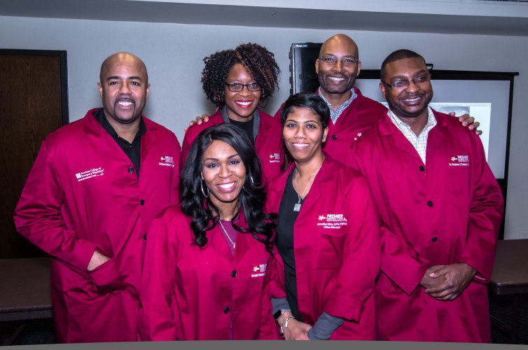 A group of black doctors teamed up to open the first black-owned urgent care center in Chicago's Southside Hyde Park neighborhood.