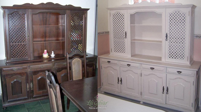 Armario De Sala De Jantar Antigo : Sala de jantar com m?veis antigos pintados pesquisa