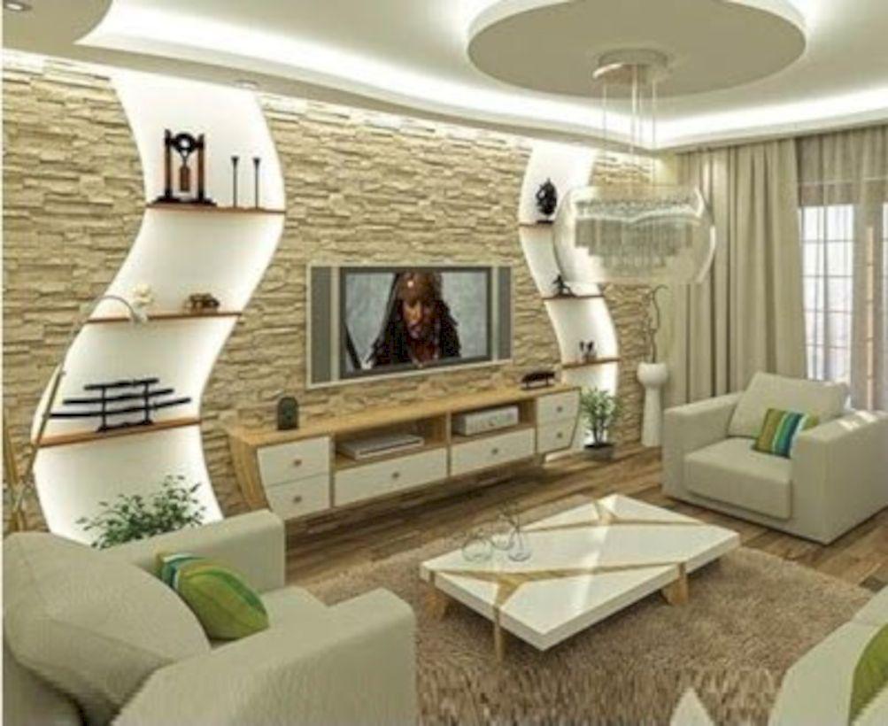 Amazing And Inspiring Modern Living Room Ideas In 2019 46 Ceiling Design Living Room Small Living Room Decor Living Room Design Modern