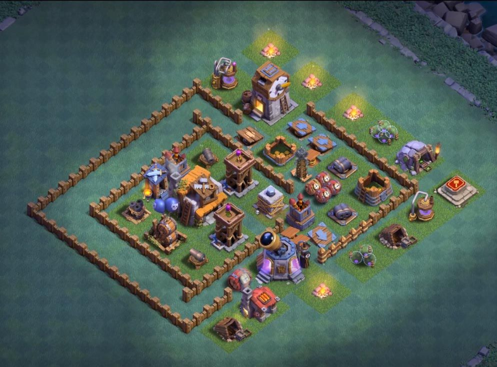 14 Best Builder Hall 5 Base Links 3500 Cups Anti 1 Star Clash Of Clans Clan Clash Of Clans Game