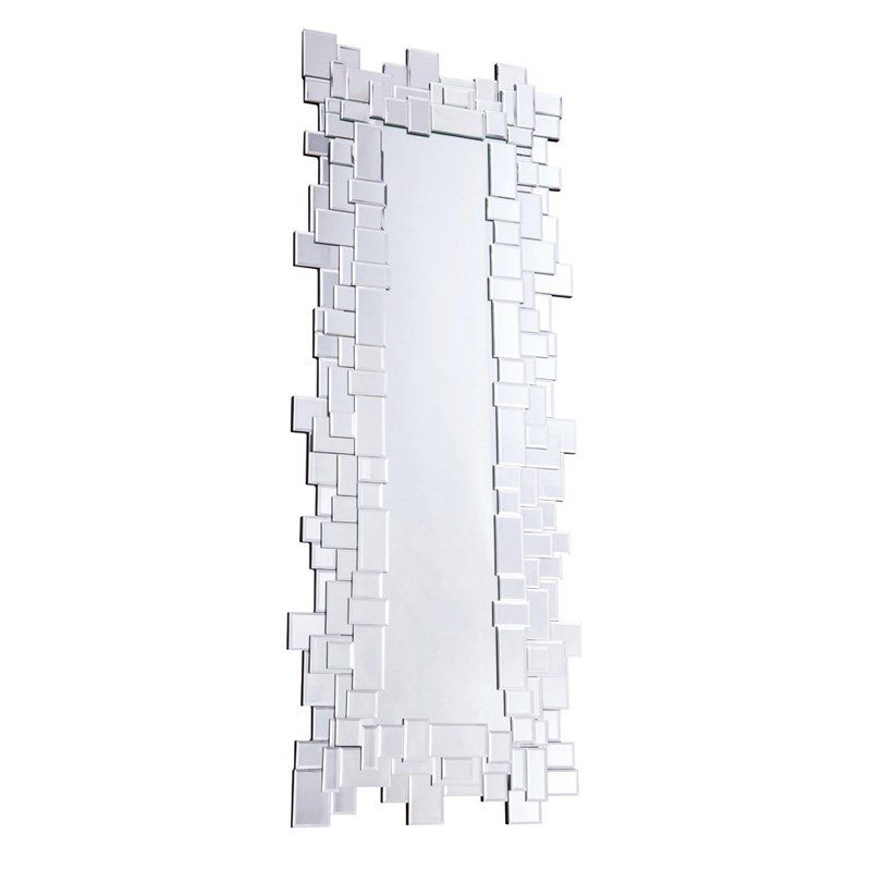 Elegant Furniture & Lighting Modern Wall Mirror - 23.6W x 60.6H in. - MR-3176