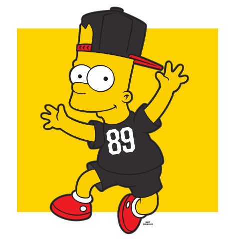 Neff X The Simpsons Collection Bart Simpson Art Simpson The Simpsons