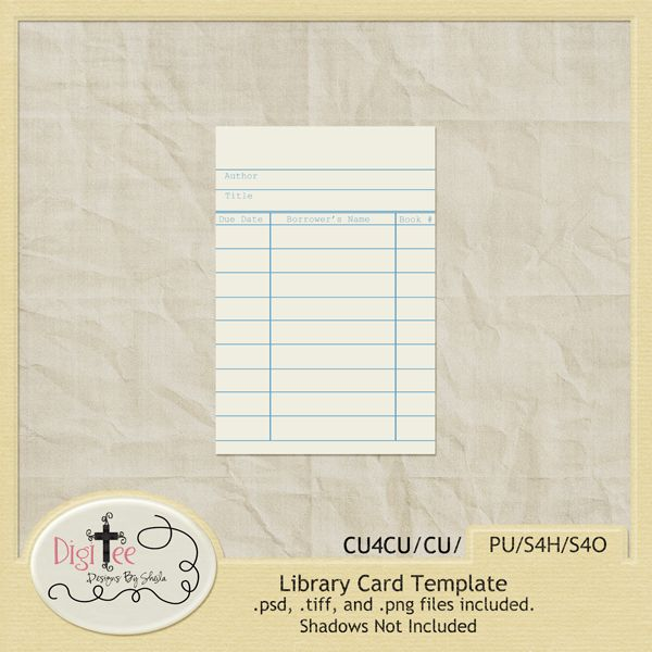 Pinterest u2022 The worldu0027s catalog of ideas - library card template