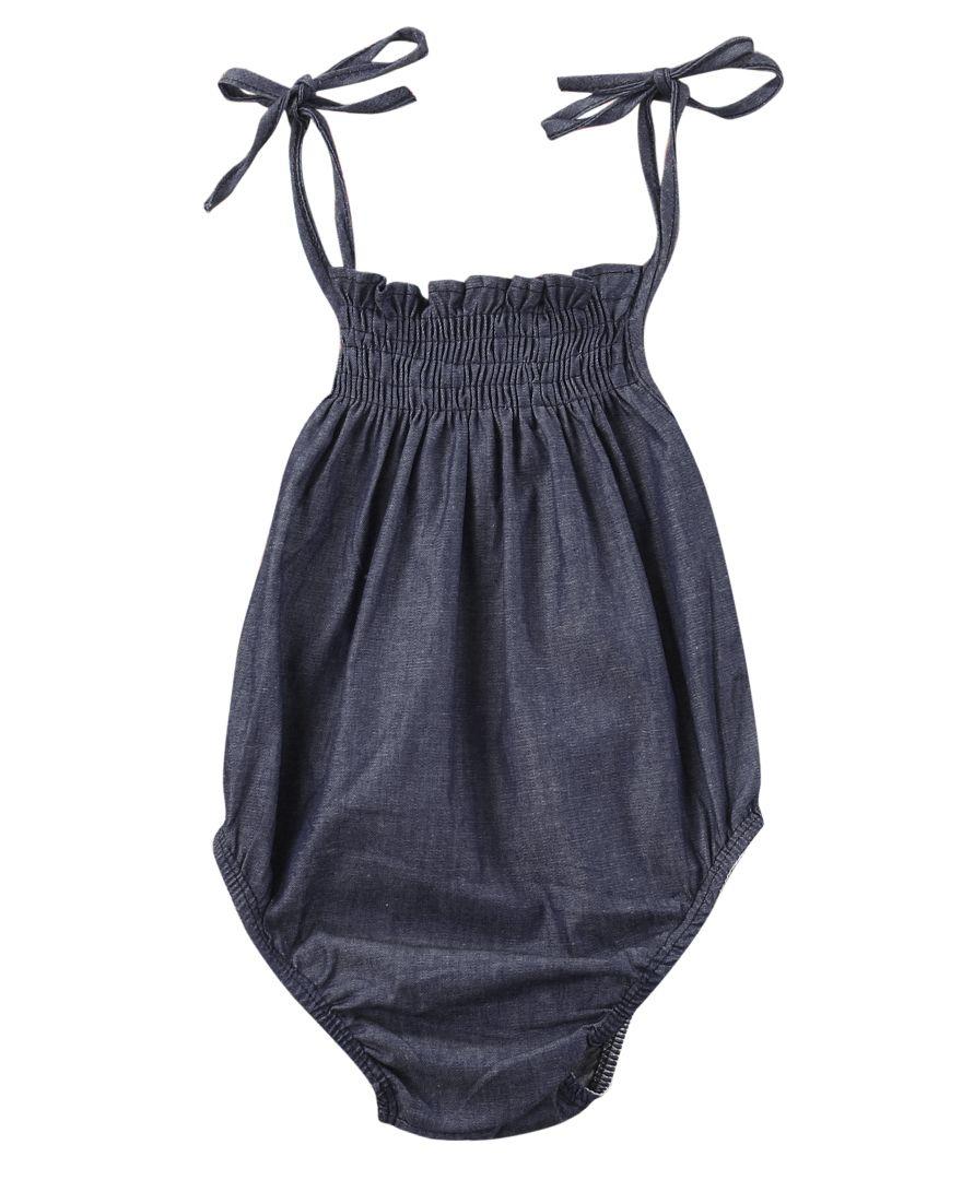 55f09090ac30 Click to Buy    Newborn Infant Toddler Baby Girl Baby Boy Unisex Fashion. Denim  RomperJumpsuit ...