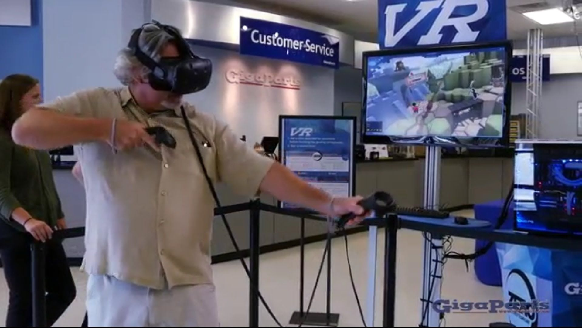 Virtual Reality Demo at GigaParts | GigaParts in Huntsville