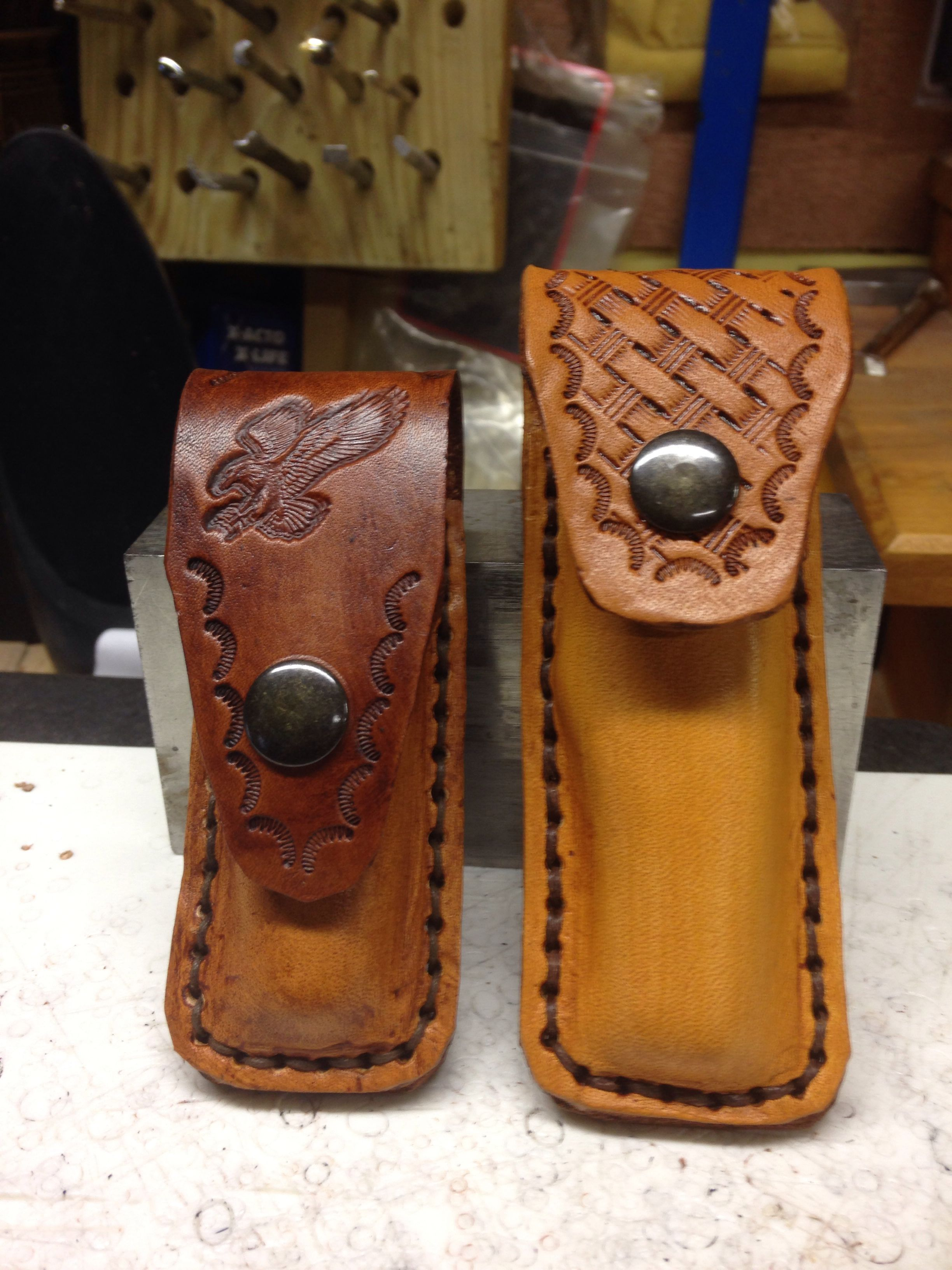Case knife cases leather crafting pinterest