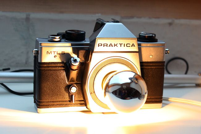 Kameralampe Diy Alte Kameras Lampen Kamera