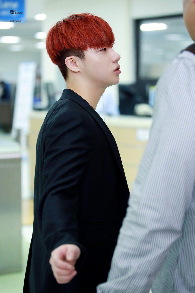 161021 red haired #Jinhwan #iKON
