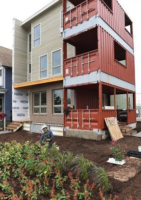This Detroit Shipping Container Home Was Built In Just Six Hours