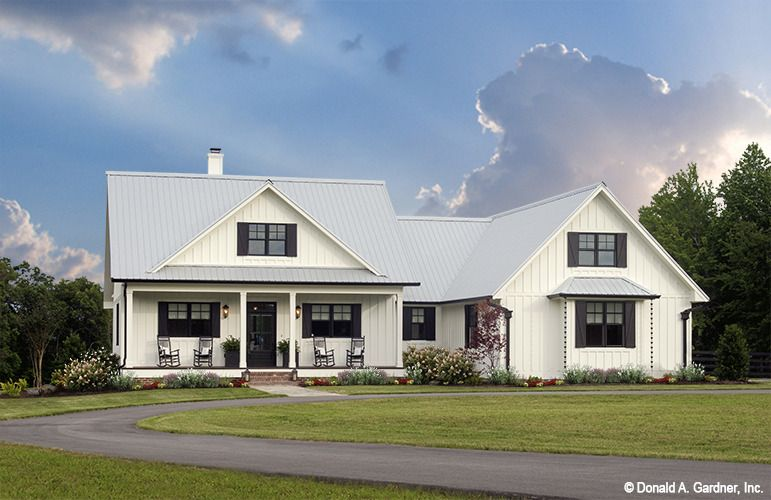 Home Plan The Coleraine By Donald A Gardner Architects Country Style House Plans Farmhouse Style House Plans Farmhouse Style House