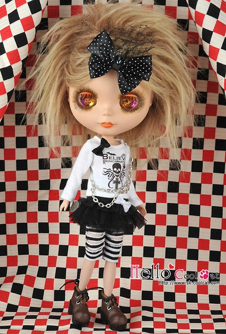 ☆ Cool Cat Collection Shop. Doll Accessories ☆ -- Printing Tee