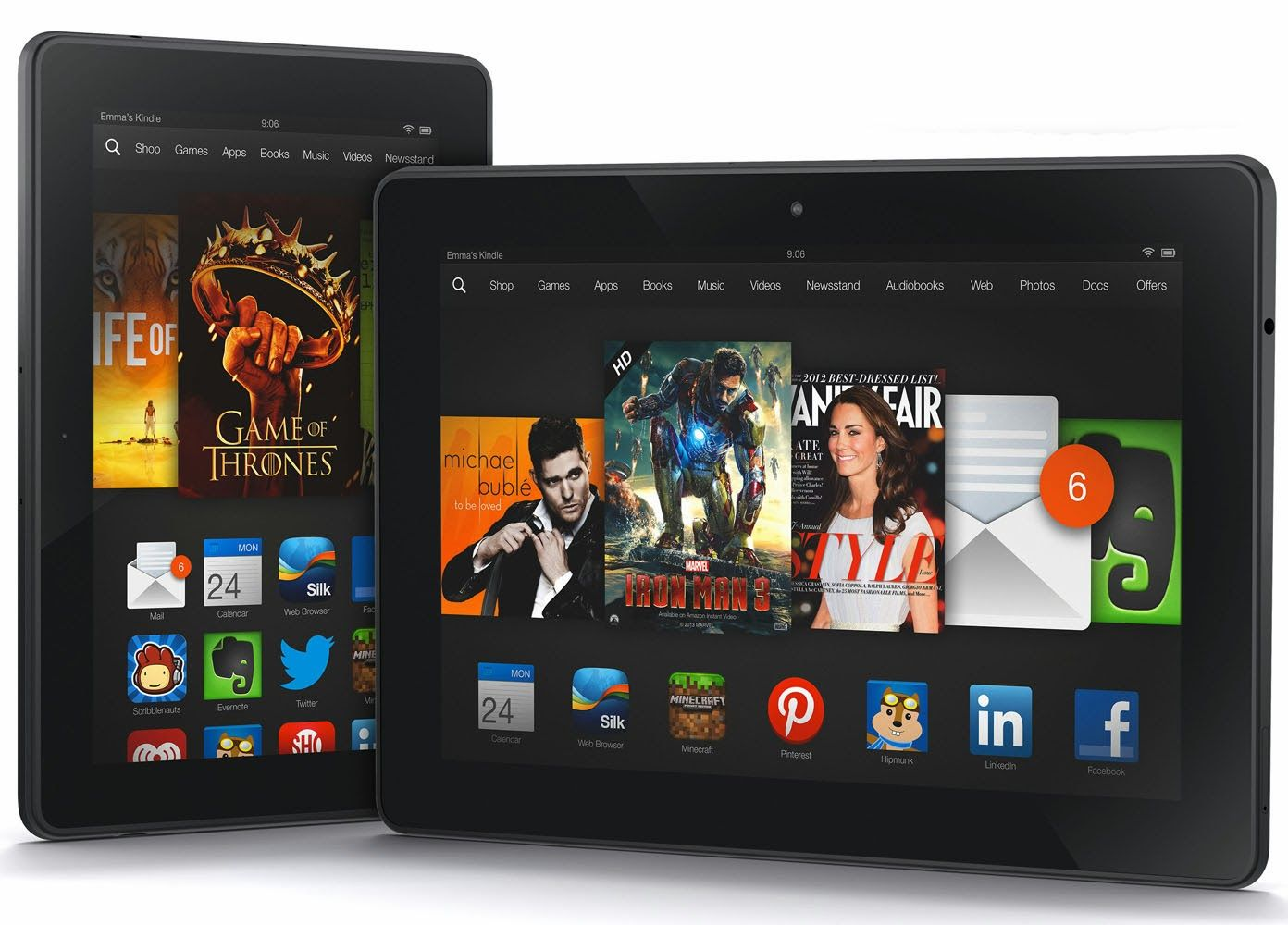 Amazon announces new Kindle Fire HDX 7 and 8.9 alongside refreshed Kindle Fire HD