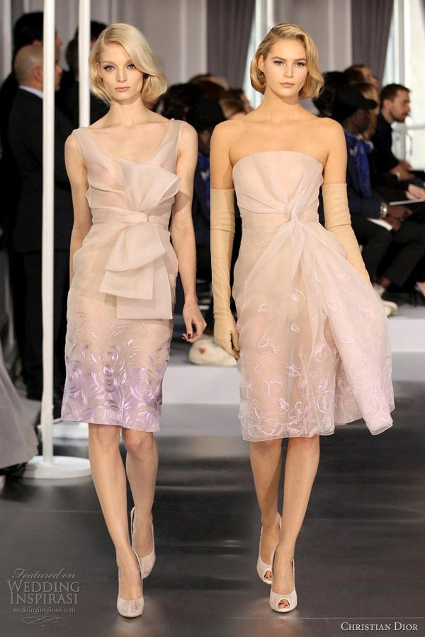 Christian Dior Spring/Summer 2012 Couture