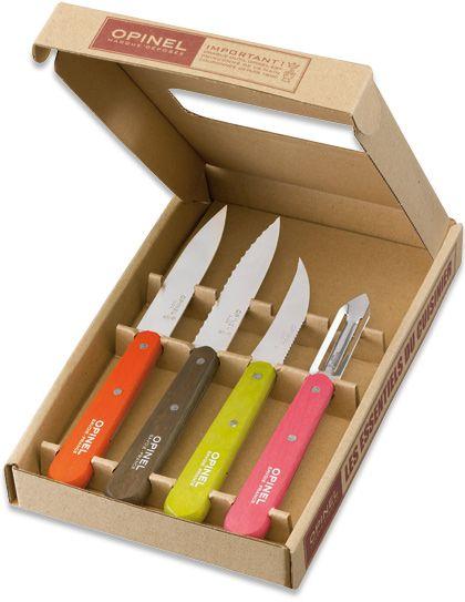 Opinel Küchenmesser Set | Will ich haben | Pinterest | Wolle