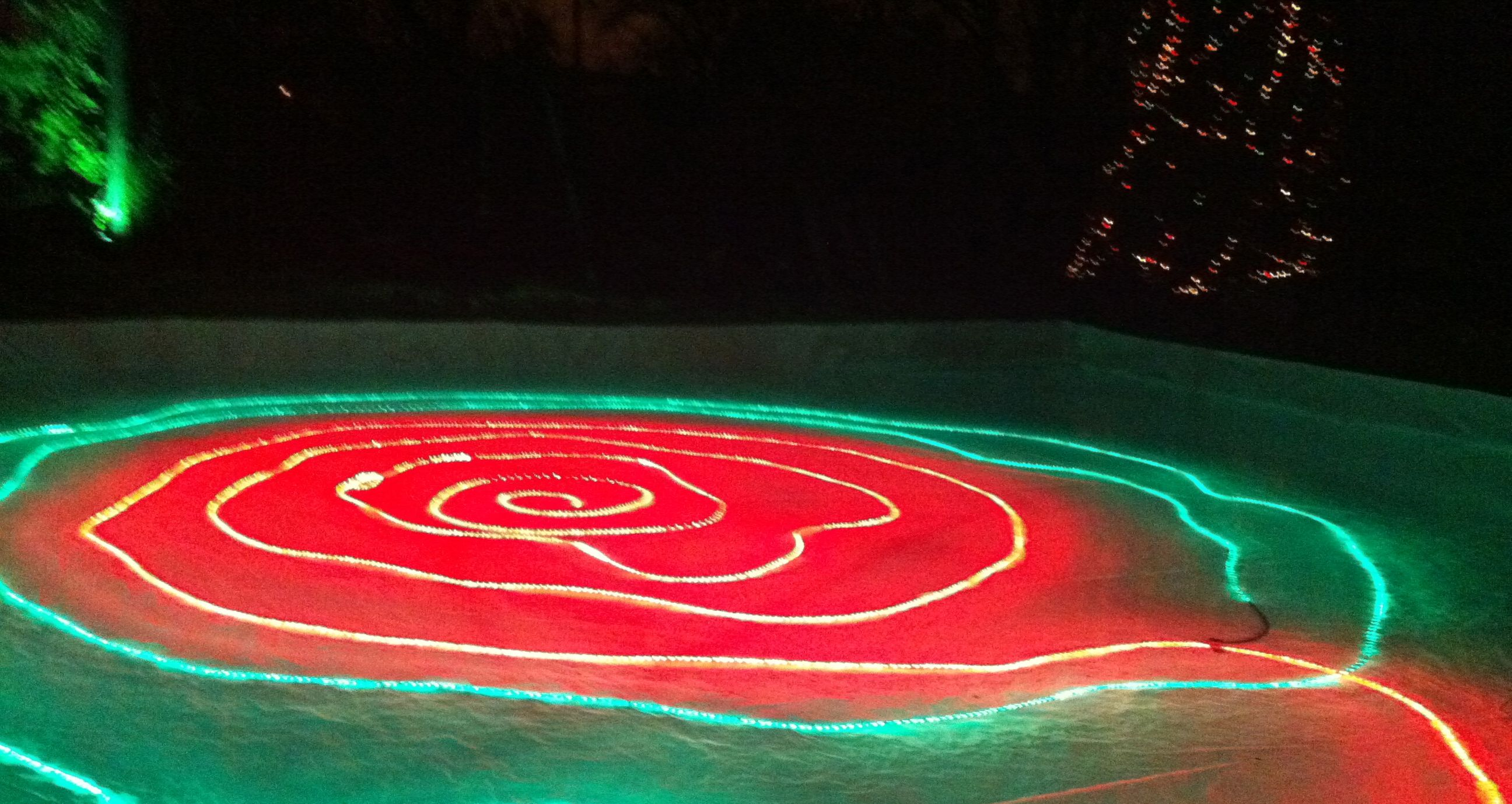 festive lights backyard ice rinks pinterest