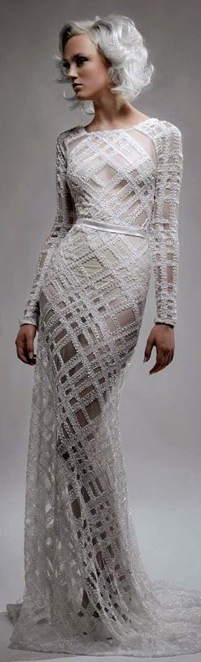 ¡Guaaao! Qué hermosura de vestido.