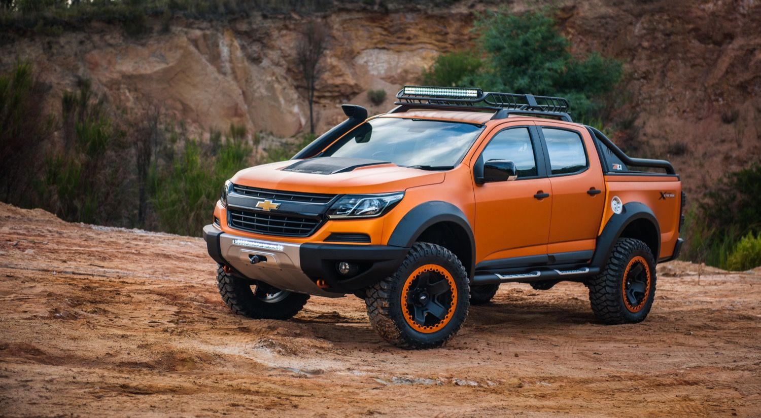 Chevrolet Colorado Xtreme Is A Not So Subtle Hint Of Future Design