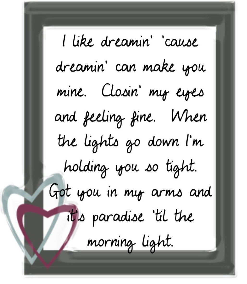 I like dreaming song