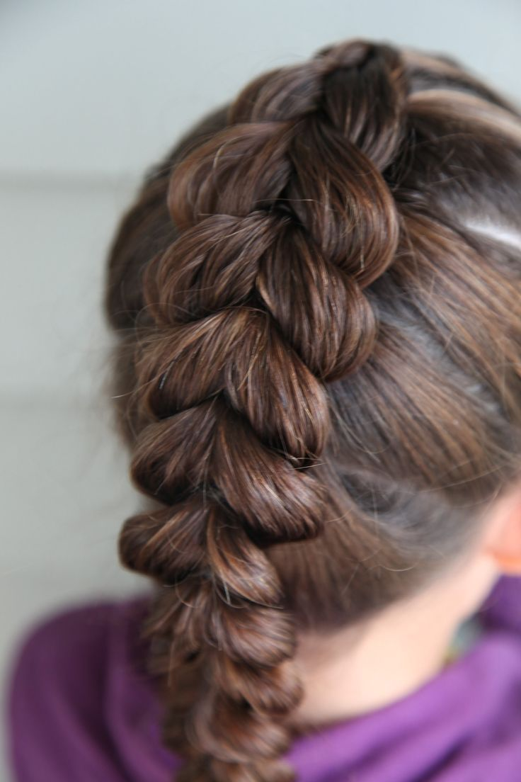 how to french braided hairstyles: classic braid tutorial now if i