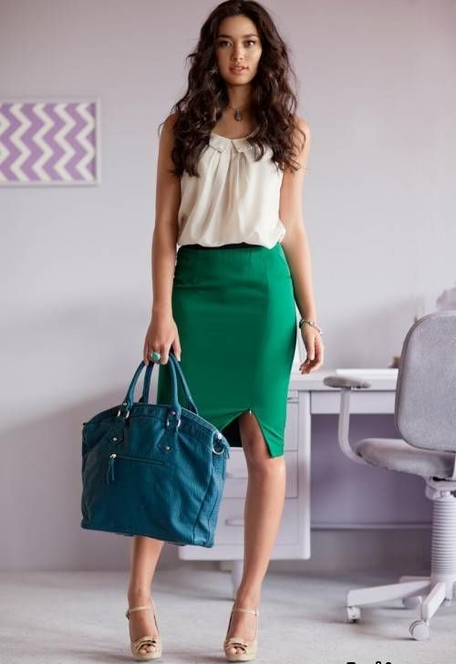 vestidos de oficina  b1ed44d420f3