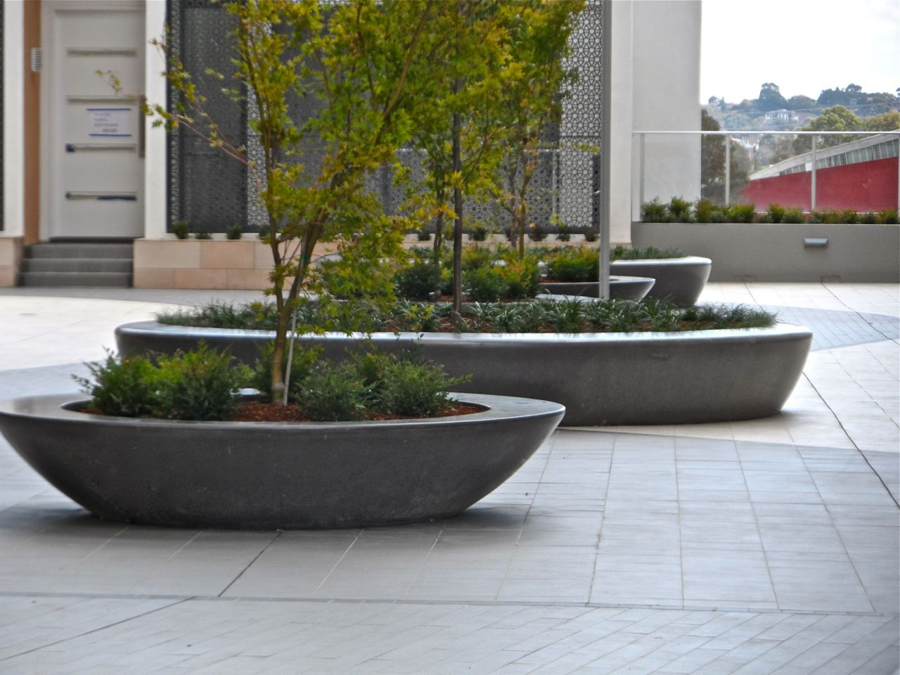 planter boxes for trees Google Search