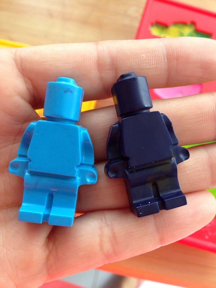 Crayolas de lego