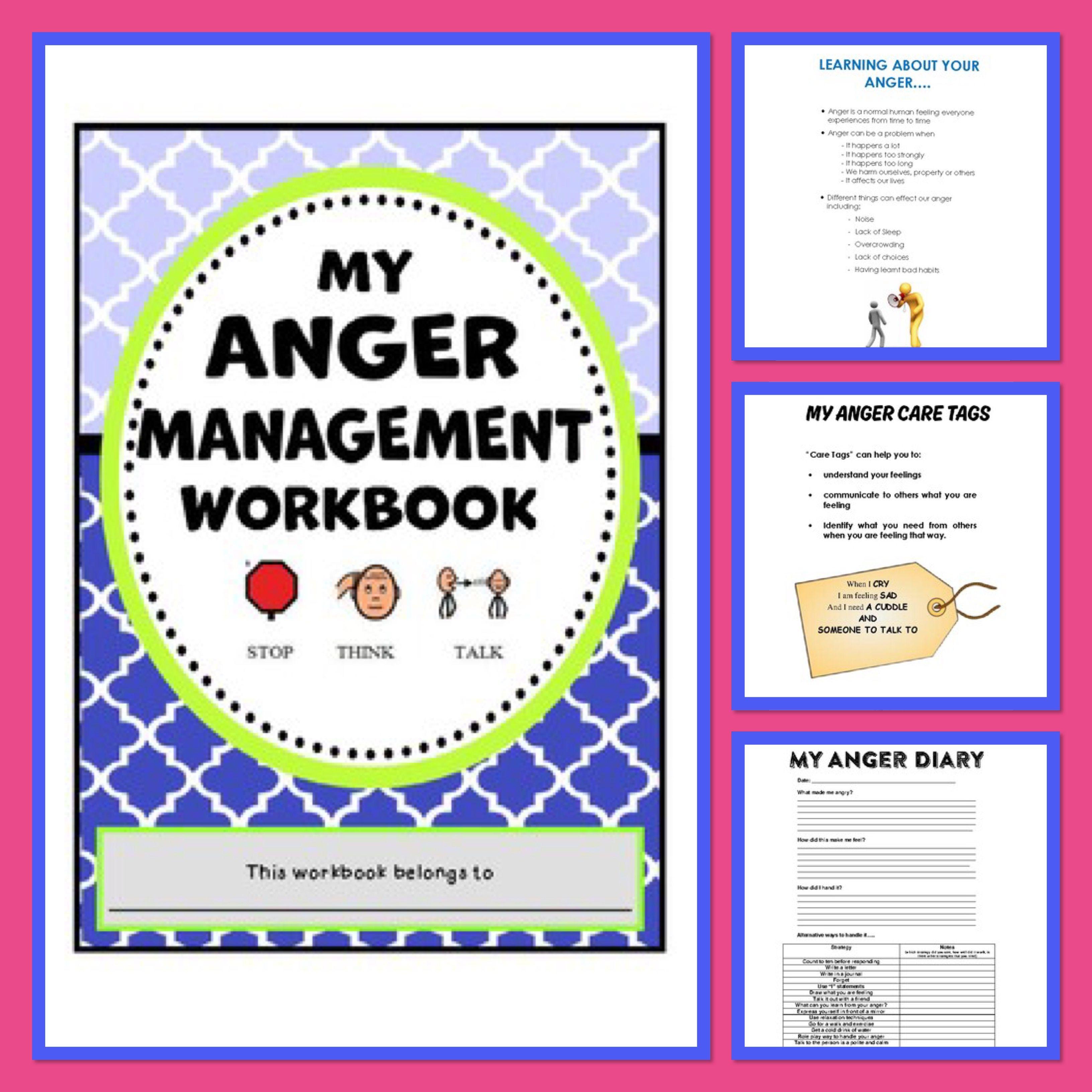 Behaviour Support My Anger Managment Workbook