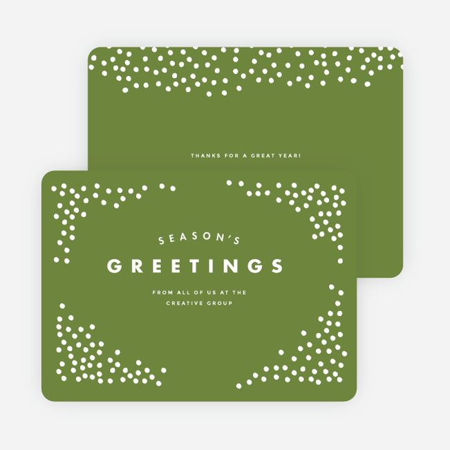 Snow falling holidays cards gifts pinterest corporate snow falling corporate holiday cards from paper culture m4hsunfo