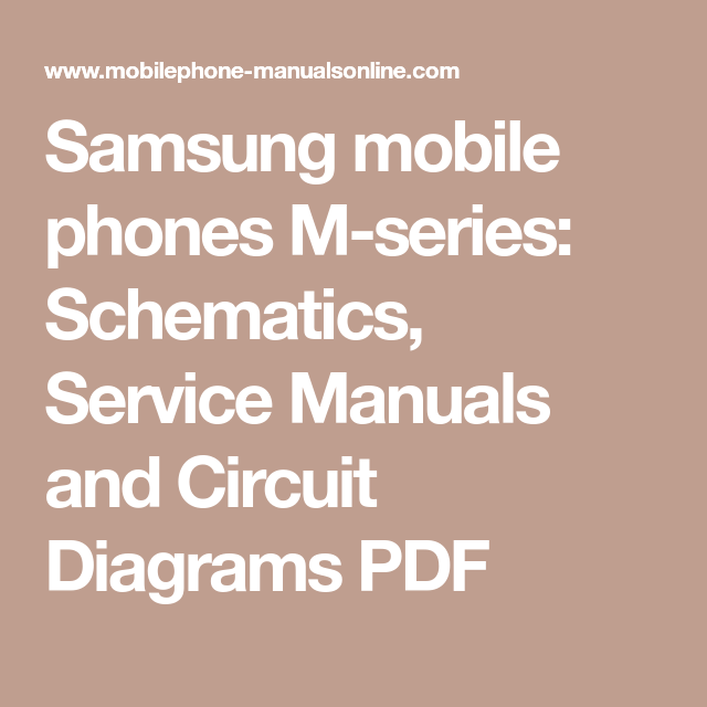 Samsung Mobile Phones M
