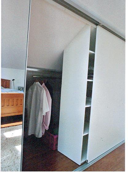 begehbarer Kleiderschrank Dachschräge - Forum - GLAMOUR | Ankleide ...