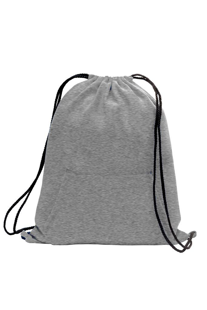 This Cotton And Poly Fleece Sweatshirt Drawstring Backpack Is The Ultimate Style Fashionable Feels Very Soft Yet Durable Long Lasting