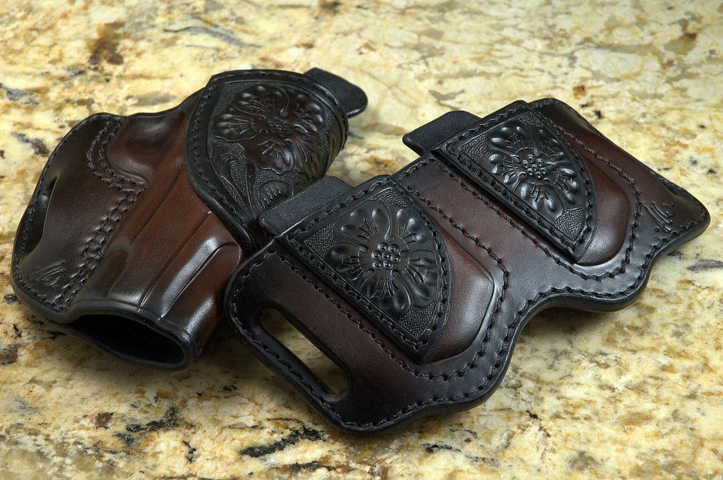 Avenger | I made this! | Leather holster, 1911 leather