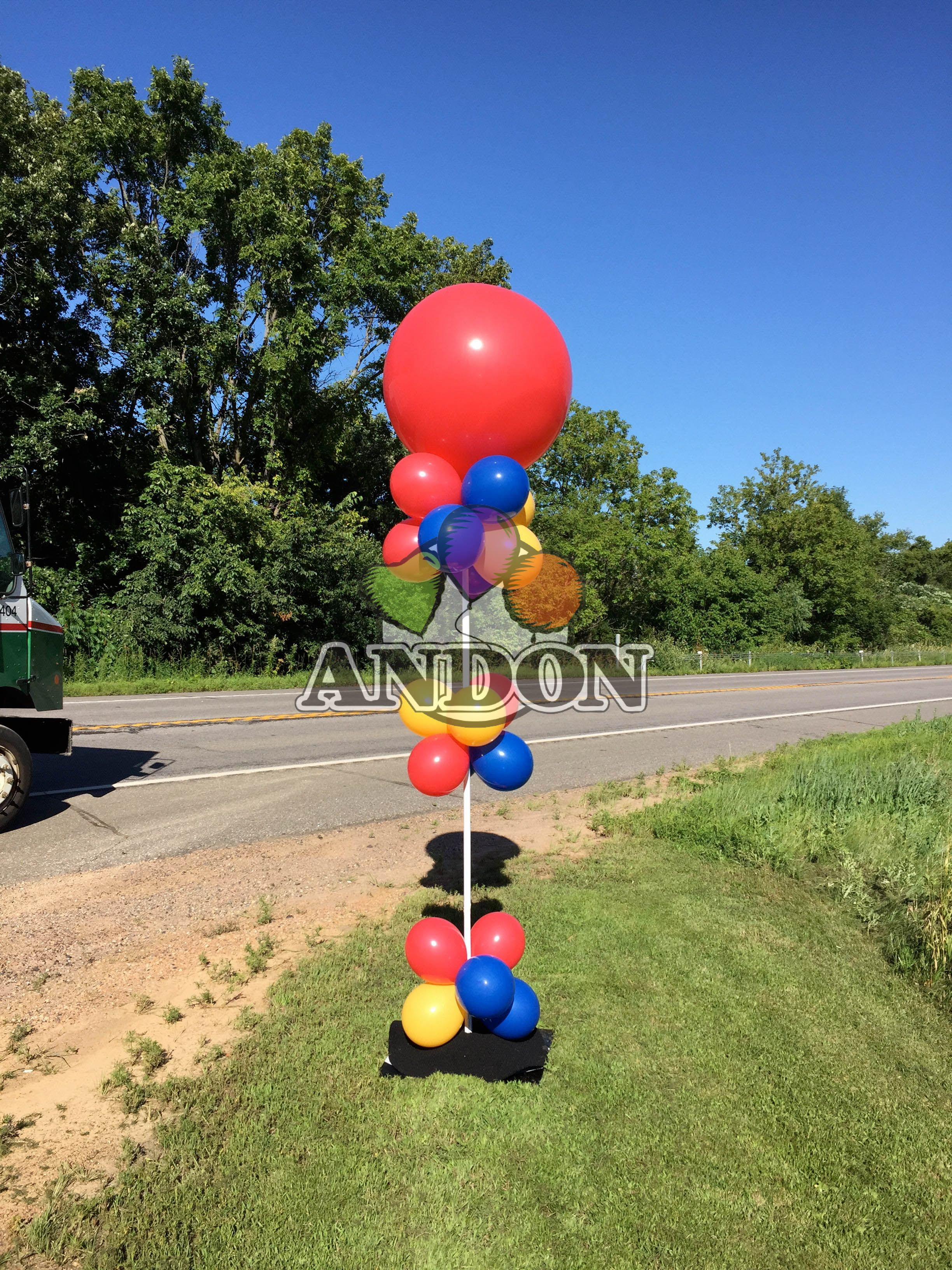 Pin by Andon Balloons & Signs on 3' Balloons (With images