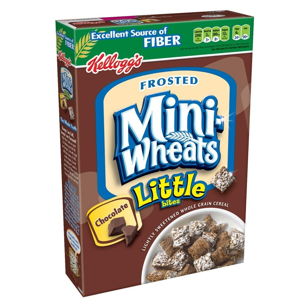 Chocolate Frosted Mini-Wheats Little Bites Cereal