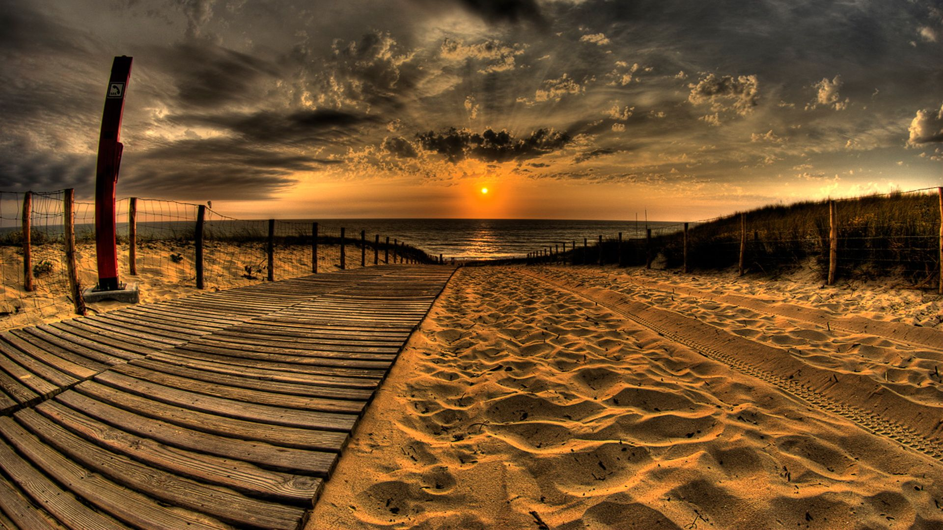 awesome photo check the latest awesome sunset at beach hd desktop wallpaper which