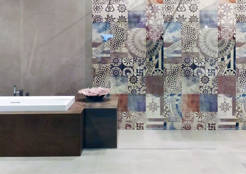 Wide style collection by abk cersaie bologna bathroom