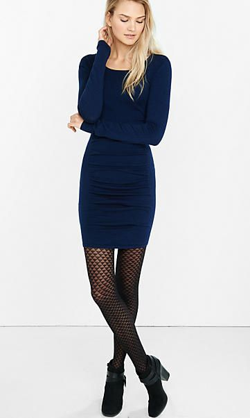 Another great sweater dress for work if not too tight.  c3bd6c1dd