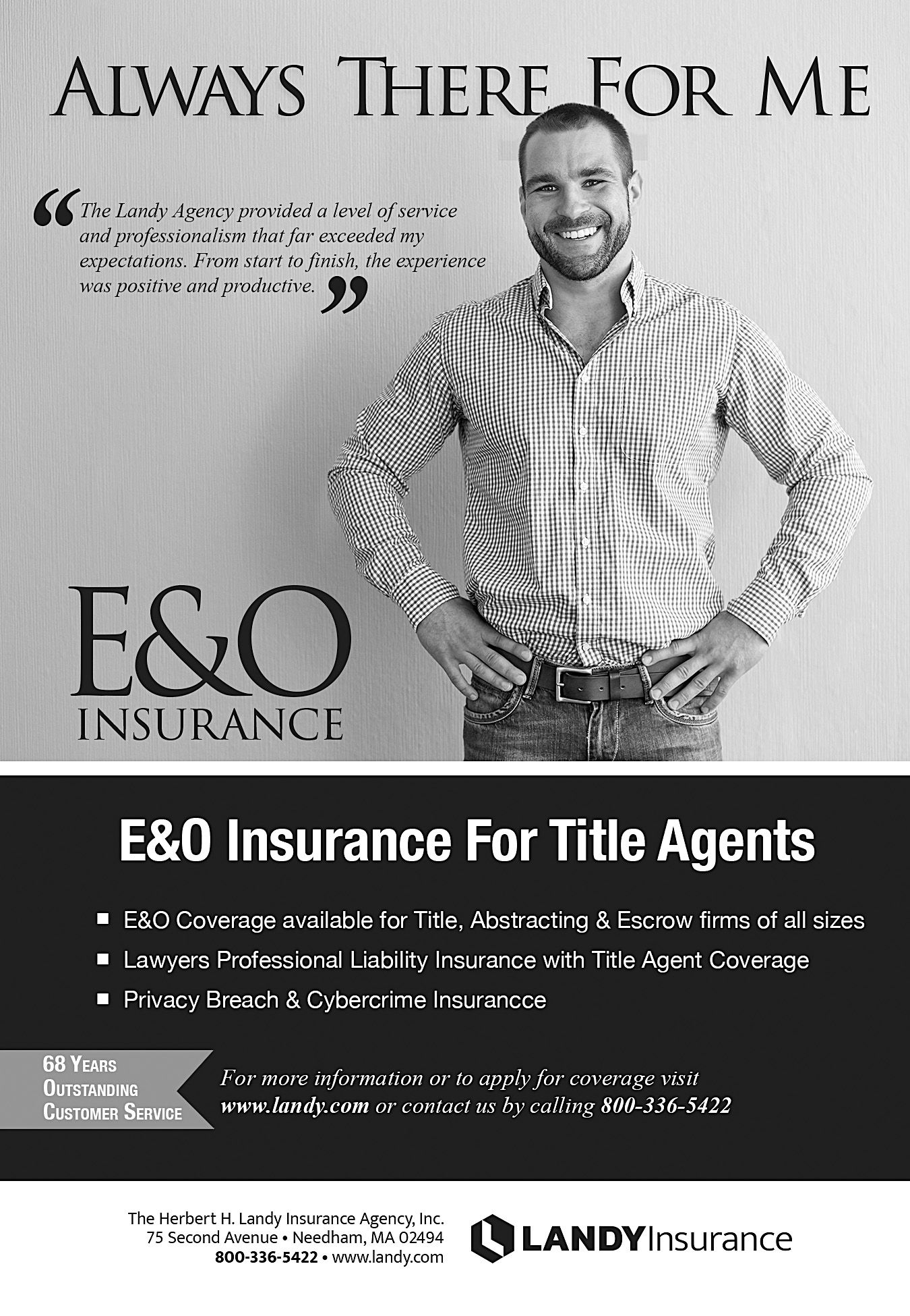 Always There For Me New England Land Title Agents Ad
