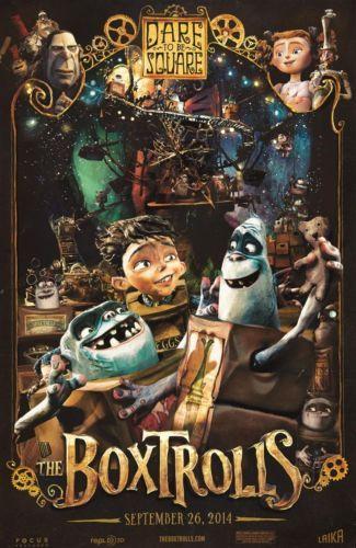 The Boxtrolls Movie Poster Concept Original Art Laika