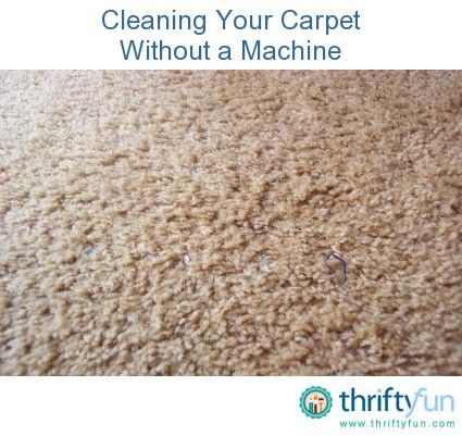 Cleaning Your Carpet Without A Machine How To Clean
