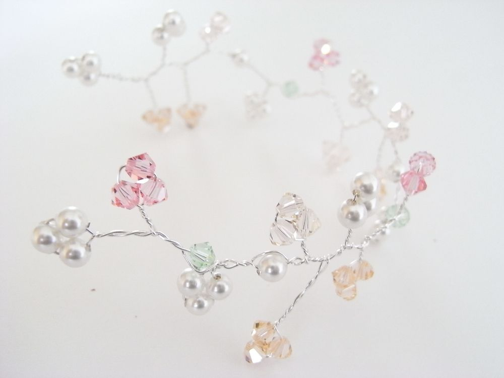 Bridal Hair Vine-easy to do, pin in place with bobby or hair pins ...