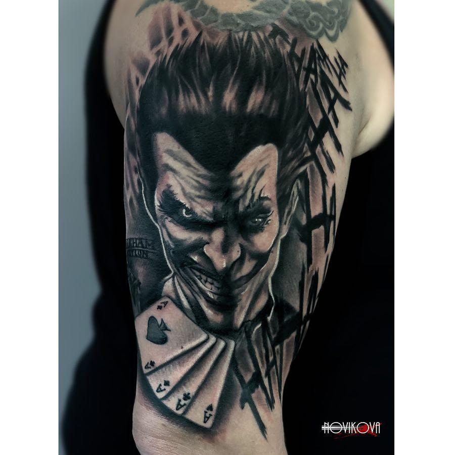 Joker Smile Tattoo Tatuajes De Sonrisa Tatuaje Joker Tatuaje Chucky