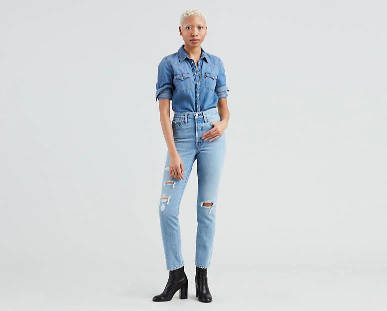 501® Skinny Women's Jeans Light Wash Women jeans, Tops