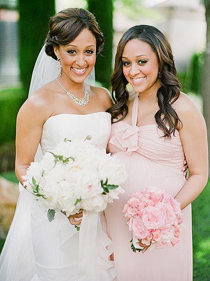 Inside Sister Sister Star Tamera Mowry S Wedding Celebrity Wedding Photos Tamera Mowry Wedding Pics