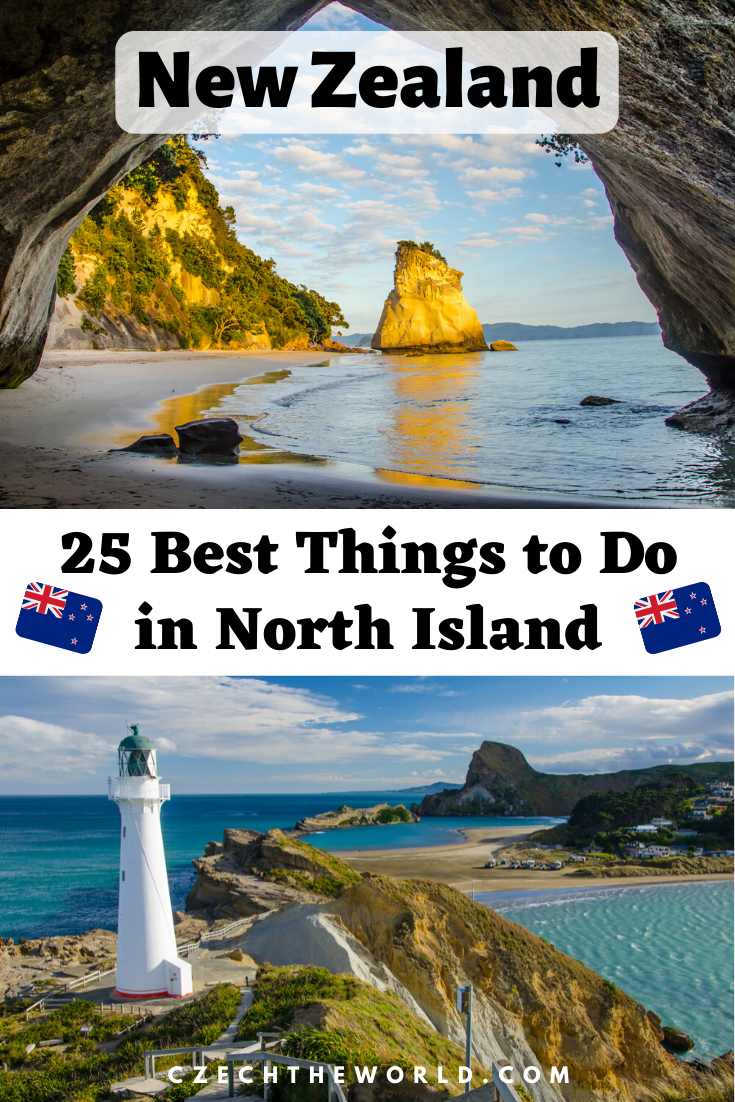Best Things To Do in New Zealand North Island - discover the magical geothermal area, hot springs, beautiful beaches, famous hiking tracks and much more with... #newzealand #northisland #thingstodo